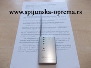 detektor za prisluskivanje uputstvo